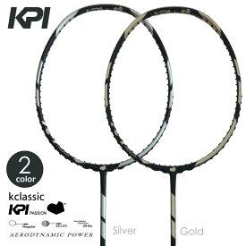 【全品10%OFFクーポン対象】『即日出荷』KPI(ケイピーアイ)「K classic Badminton バドミントンラケット SpaceGray / Gold」フレームのみ KPIオリジナル商品 「あす楽対応」 「KPIバドミントンベストセレクション」