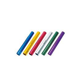 トーエイライト TOEI LIGHT 学校機器設備用品 アルミバトン練習(6色1組) G1207