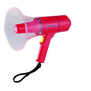 【全品10%OFFクーポン対象】エバニュー EVERNEW 学校機器設備用品 拡声器15S EKB092