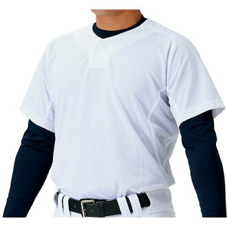 Uniform mesh pullover shirt MECHAPAM (machine bread) BU1183MPS-1100 2018 for a Z ZETT baseball wear exercise, the game