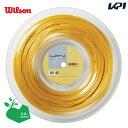 LUXILON(ルキシロン)「LUXILON 4G 130 200mロール WRZ990142」硬式テニスストリング(ガット)【kpi_d】