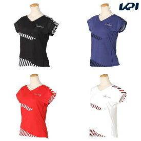 【全品10%OFFクーポン対象】パラディーゾ PARADISO テニスウェア レディース ゲームシャツ RCL62A 2020SS [ポスト投函便対応]