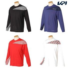 パラディーゾ PARADISO テニスウェア メンズ 長袖ゲームシャツ RCM04F 2020SS [ポスト投函便対応]