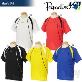『全品10%OFFクーポン対象』PARADISO(パラディーゾ)「メンズ 半袖ゲームシャツ 97CM6A」テニスウェア「2017SS」[ネコポス可]