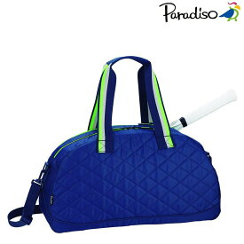 パラディーゾ PARADISO テニスバッグ・ケース 18AWキルトスポーツバッグ TRA861