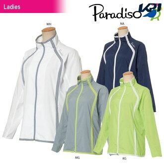 """パラディーゾ PARADISO tennis wear Lady's jacket JCL12D 2018SS """"correspondence"""""""