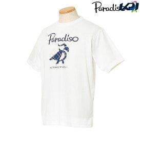 パラディーゾ PARADISO テニスウェア メンズ 半袖シャツ KCM20A 2018FW[ポスト投函便対応]