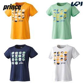【全品10%OFFクーポン対象】プリンス Prince テニスウェア レディース Tシャツ WS0018 2020SS [ポスト投函便対応]