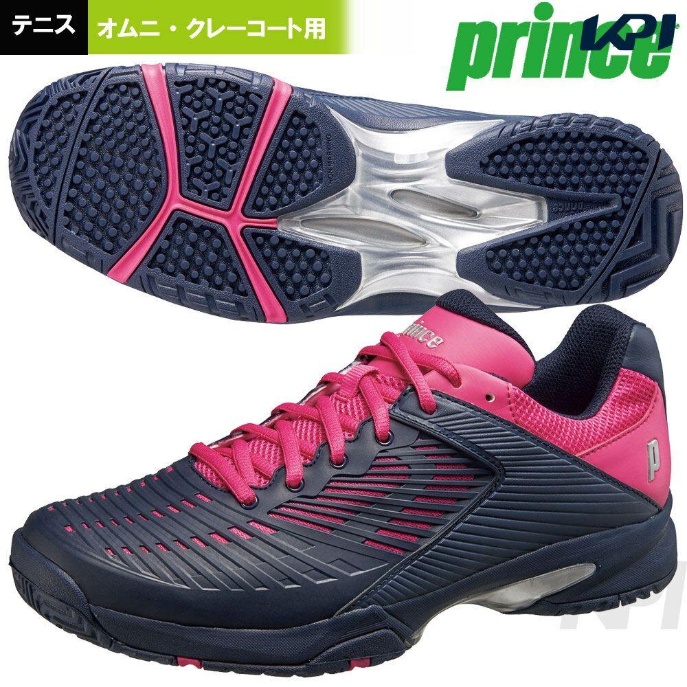 【最大3500円クーポン】「2017新製品」Prince(プリンス)「ワイド ライト CG(WIDE LITE CG)DPSWC1M」オムニ・クレーコート用テニスシューズ