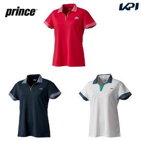 【全品10%OFFクーポン】プリンス Prince テニスウェア レディース ゲームシャツ WF0105 2020FW [ポスト投函便対応]【5000円以上購入でソックスプレゼント】