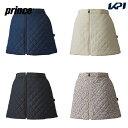 【全品10%OFFクーポン】プリンス Prince テニスウェア レディース 中綿キルティングスカート WF0809 2020FW