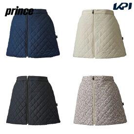 プリンス Prince テニスウェア レディース 中綿キルティングスカート WF0809 2020FW
