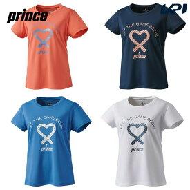 【全品10%OFFクーポン対象】プリンス Prince テニスウェア レディース Tシャツ WL9087 2019FW