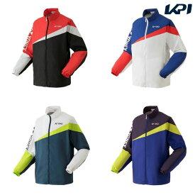 【全品10%OFFクーポン】ヨネックス YONEX テニスウェア ユニセックス 裏地付ウォームアップシャツ 52020 2019SS