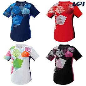ゴーセン GOSEN テニスウェア レディース ゲームシャツ T1905 2019SS[ポスト投函便対応]
