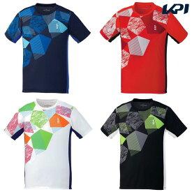 【全品10%OFFクーポン】ゴーセン GOSEN テニスウェア ユニセックス ゲームシャツ T1906 2019SS[ポスト投函便対応]