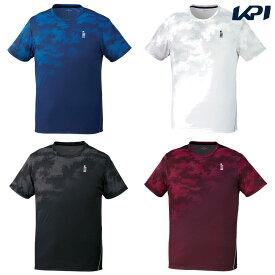 【全品10%OFFクーポン】ゴーセン GOSEN テニスウェア ユニセックス ゲームシャツ T1912 2019SS [ポスト投函便対応]