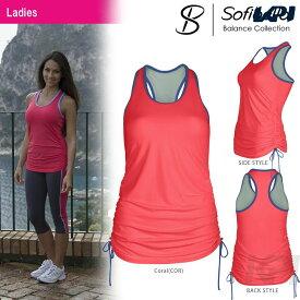 【店内最大2000円クーポン対象】『即日出荷』Sofibella(ソフィベラ)「Balance Collection(バランスコレクション) Athletic Tunic BA1460」テニスウェア「SS」「あす楽対応」【KPI】
