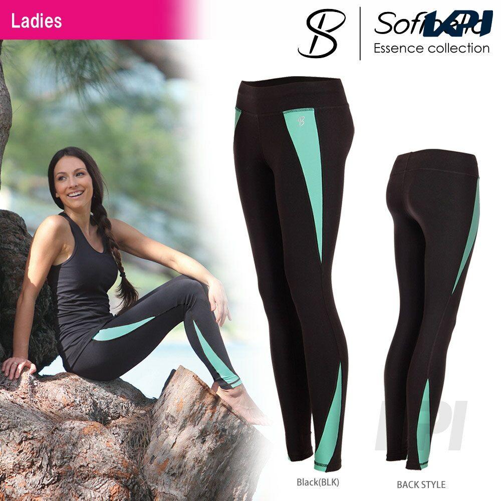 【半額クーポン対象】『即日出荷』Sofibella(ソフィベラ)「Essence Collectiom(エッセンスコレクション) Legging ES1491」テニスウェア「FW」「あす楽対応」【KPI】