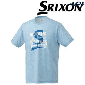 【全品10%OFFクーポン対象】「あす楽対応」スリクソン SRIXON テニスウェア ユニセックス Tシャツ SDL-8840 SDL-8840 2018FW[ポスト投函便対応] 『即日出荷』