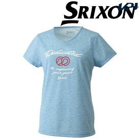 【エントリーでP最大20倍&店内最大2000円クーポン▼3/28〜31】「あす楽対応」スリクソン SRIXON テニスウェア レディース Tシャツ SDL-8860W SDL-8860W 2018FW[ポスト投函便対応] 『即日出荷』
