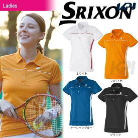 SRIXON(スリクソン)「WOMEN'S CLUB LINE レディース ポロシャツ SDP-1728W」テニスウェア「2017SS」[ポスト投函便対応]