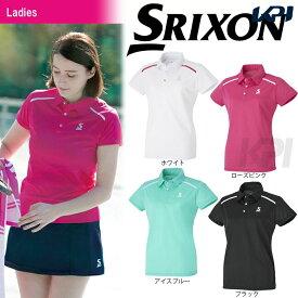 【全品10%OFFクーポン対象】SRIXON(スリクソン)「WOMEN'S CLUB LINE レディース ポロシャツ SDP-1729W」テニスウェア「2017SS」[ポスト投函便対応]