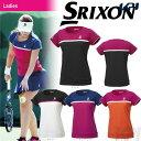 「2017新製品」SRIXON(スリクソン)「WOMEN'S レディース TOUR LINE ゲームシャツ SDP-1760W」テニスウェア「2017FW」