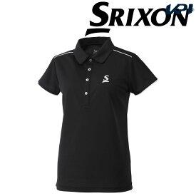 【全品10%OFFクーポン】スリクソン SRIXON テニスウェア レディース ポロシャツ SDP-1867W SDP-1867W 2018FW[ポスト投函便対応]