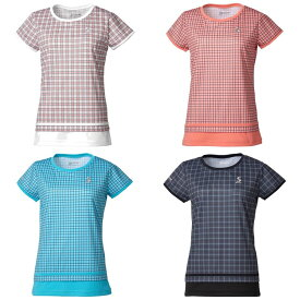 スリクソン SRIXON テニスウェア レディース ゲームシャツ SDP-1962W 2019FW [ポスト投函便対応]