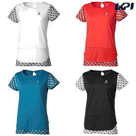 スリクソン SRIXON テニスウェア レディース ゲームシャツ SDP-1965W 2019FW  [ポスト投函便対応]