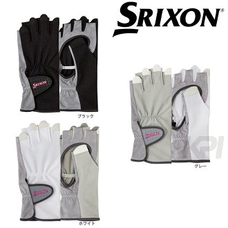 """2017 new products"" SRIXON (スリクソン) ""Lady's glove (half type) both hands set SGG-0710"" [possible cat POS]"
