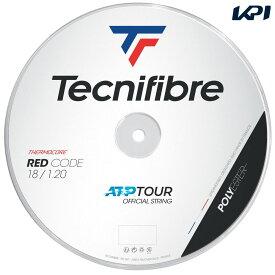 【全品10%OFFクーポン〜9/20】テクニファイバー Tecnifibre テニスガット・ストリング REDCODE (レッドコード) 1.20mm 200mロール TFR415 TFSR404