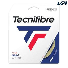 【対象3店舗買いまわり最大10倍 3/4〜】テクニファイバー Tecnifibre テニスガット・ストリング NRG2(エヌアールジースクエア) 1.24mm TFG211 [ポスト投函便対応] TFSG204