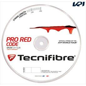 『全品10%OFFクーポン対象』「あす楽対応」「新パッケージ」Tecnifibre(テクニファイバー)「PRO REDCODE(プロ レッドコード) 200mロール TFR501」硬式テニスストリング(ガット)【KPI】 『即日出荷』