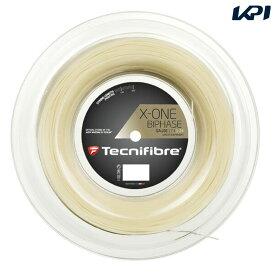 【店内最大2000円クーポン対象】「あす楽対応」Tecnifibre(テクニファイバー)「X-ONE BIPHASE(エックスワン バイフェイズ) 200mロール TFR901」硬式テニスストリング(ガット) 『即日出荷』