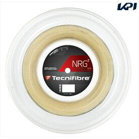 『全品10%OFFクーポン対象』『即日出荷』「新パッケージ」Tecnifibre(テクニファイバー)「NRG2(エヌアールジースクエア) 200mロール TFR904」硬式テニスストリング(ガット)「あす楽対応」