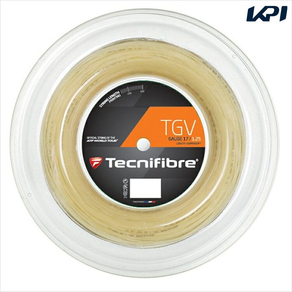 『即日出荷』Tecnifibre(テクニファイバー)「TGV(ティージーブイ) 200mロール TFR906」硬式テニスストリング(ガット)「あす楽対応」【kpi_d】