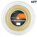 「新パッケージ」Tecnifibre(テクニファイバー)「TGV(ティージーブイ) 200mロール TFR907」硬式テニスストリング(ガット)【KPI】