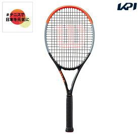 【全品10%OFFクーポン】ウイルソン Wilson テニス 硬式テニスラケット CLASH 100 クラッシュ100 WR005611S「#テニスで日本を元気に!プロジェクト」