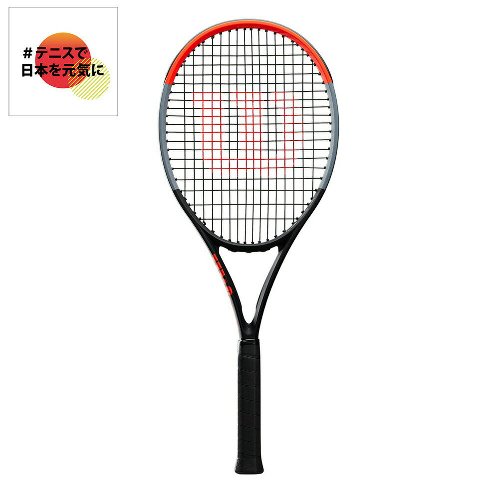 ウイルソン Wilson テニス硬式テニスラケット CLASH 100 TOUR クラッシュ100ツアー WR005711S
