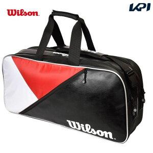 【全品10%OFFクーポン+対象3店舗買いまわり最大10倍】「あす楽対応」ウイルソン Wilson テニスバッグ・ケース RECTANGLE BAG IV JPN RD/BK/Wh WR8002102001 『即日出荷』