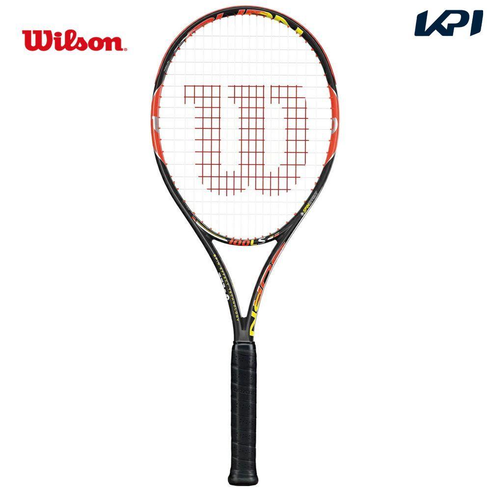 『即日出荷』 Wilson(ウイルソン)「BURN 100LS(バーン100LS) WRT725520」硬式テニスラケット(スマートテニスセンサー対応)「あす楽対応」【kpi_d】