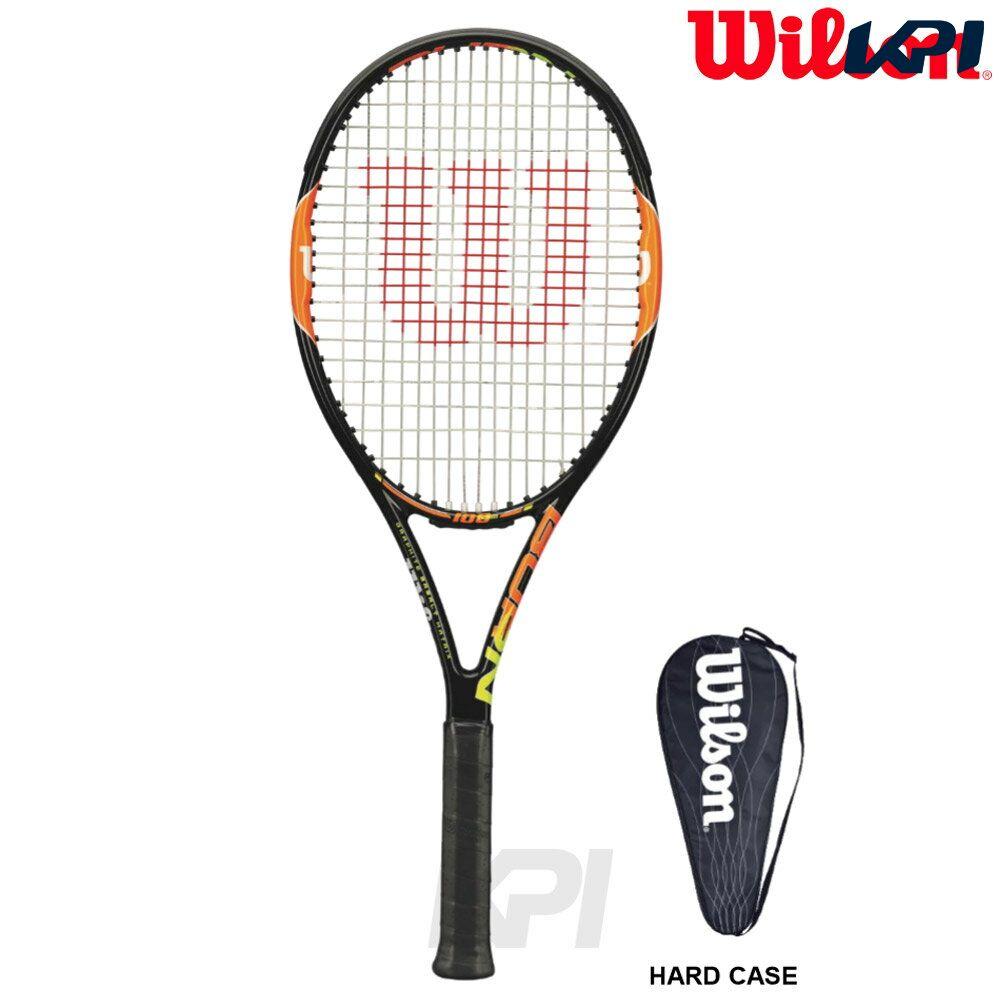 『即日出荷』Wilson(ウイルソン)「BURN 100TEAM(バーン100チーム) WRT725810」硬式テニスラケット(スマートテニスセンサー対応) 「あす楽対応」【kpi_d】