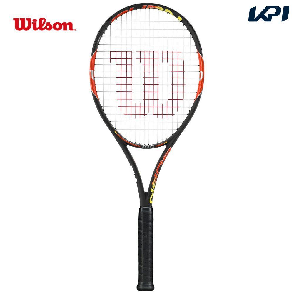 『即日出荷』 Wilson(ウイルソン)「BURN 100(バーン100) WRT727020」硬式テニスラケット(スマートテニスセンサー対応)「あす楽対応」【kpi_d】