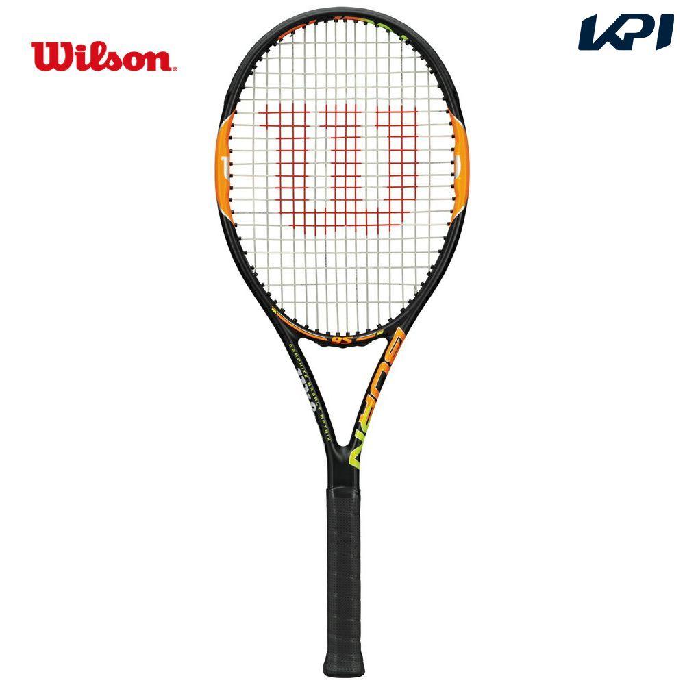 『即日出荷』Wilson(ウイルソン)「BURN 95(バーン95) WRT727120」硬式テニスラケット(スマートテニスセンサー対応)「あす楽対応」【kpi_d】