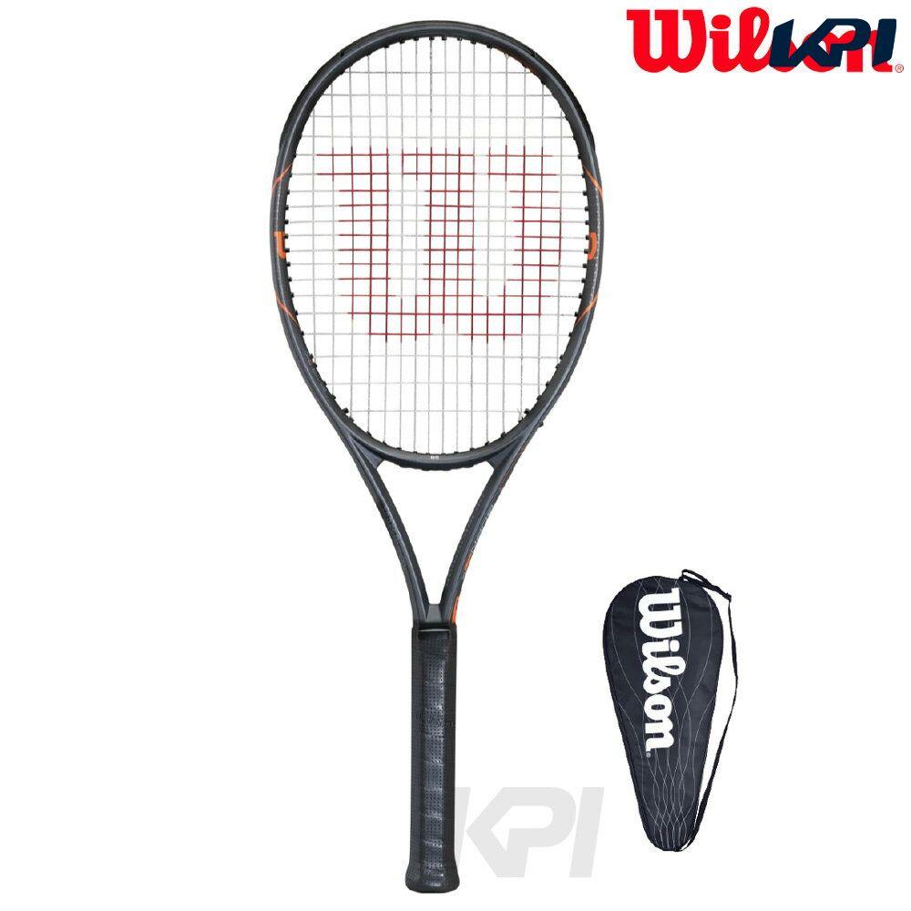 『全品10%OFFクーポン対象』「2017モデル」Wilson(ウイルソン)「BURN FST 95(バーンFST 95) WRT729010」硬式テニスラケット(スマートテニスセンサー対応)【KPI】