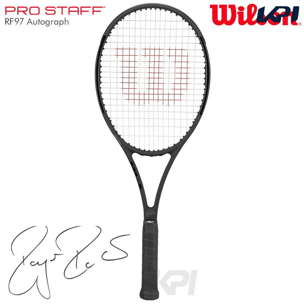「2017モデル」Wilson(ウイルソン)「PRO STAFF RF97 Autograph(プロスタッフ97RFオートグラフ) WRT731410」硬式テニスラケット(スマートテニスセンサー対応)【KPI】【kpi_d】