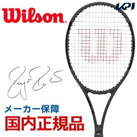 【全品10%OFFクーポン対象】ウイルソン Wilson 硬式テニスラケット 2019 PRO STAFF RF97 Autograph Black in Black プロスタッフ RF 97 オートグラフ WRT73141S