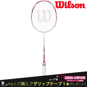 """""""握柄带子礼物""""""""2017新产品""""Wilson(威尔逊)""""FIERCE CX 9000J-Cherry Blossom(fiasu CX9000J)WRT8801202""""羽毛球球拍""""对应"""""""